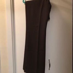 Brown Ann Taylor Dress Pants